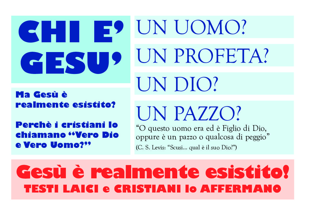 CHI È GESU': Ma Gesù è realmente esistito?